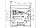 Монтажные клещи для снятия внешней и внутренней оболочки кабелей типа SP1094